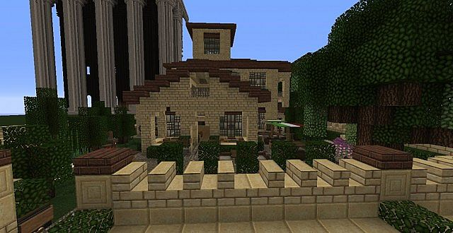 Italian Cafe Restaurant By Poohcraft Minecraft Project