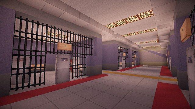 Modern Police Station Minecraft Project