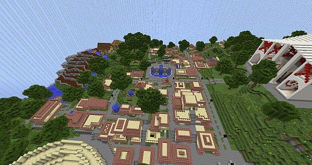 pompeii карта майнкрафт #1