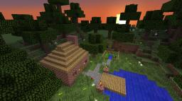 Small Peaceful home. Minecraft Map & Project