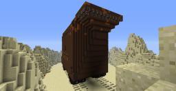 Sandcrawler Minecraft Map & Project