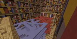 [Paintball map]: Bookshelves Minecraft Map & Project