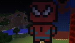 Spider-Man PixelArt Set Minecraft Map & Project