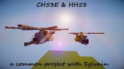 CH53E & HH53 Minecraft Map & Project