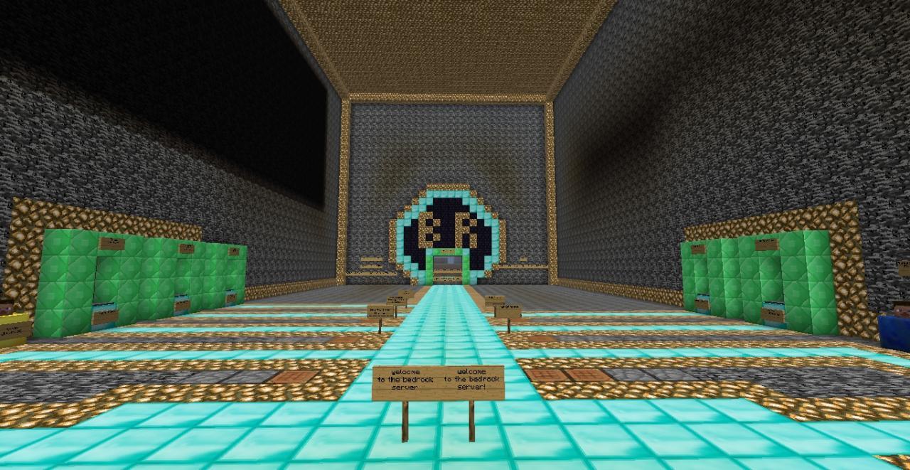 The Bedrock Server Minecraft Server