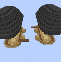 Airship Battle [World Download, Not MCEditSchematic!] V2.1 Minecraft Project
