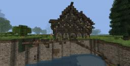 Ashton manor, a 15th century fantasy manor house. [30 diamonds?.] Minecraft