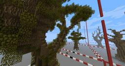 Custom nature stuff (trees, rocks, etc.) Minecraft Map & Project