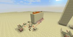 Redstone - TNT Human Blaster and a Fire Arrow Shooter