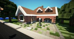 Suburban House | Build by Superprut | WoA Server | Minecraft Map & Project