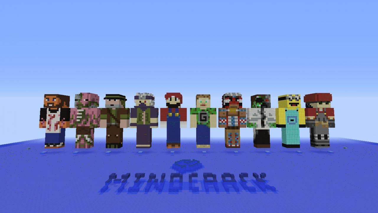 Minecraft Statues Season 3 Mindcrack Minecraft Project