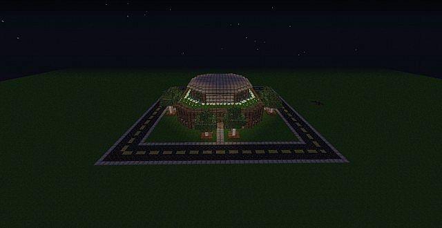 [Карта] Spawn для сервера Minecraft