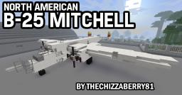 B-25 Mitchell - WWII Medium Bomber Minecraft Map & Project