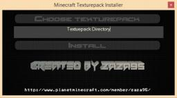 Texture/Resource Pack Installer Minecraft