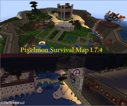 Pixelmon Survival Map 1.7.8 Minecraft Map & Project