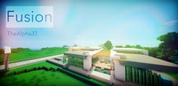 Fusion - Modern House Minecraft Project