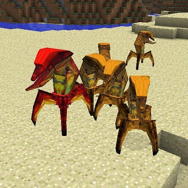 The Joust - Strange desert animals that can be farmed, but watch out for the alphas!