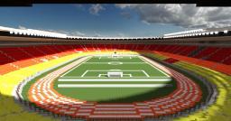 Giant Olympic Stadium ( 108,000 + blocks ) Minecraft Map & Project