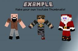 How to get your OWN Custom Youtube Thumbnails! Minecraft