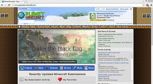Under The Black Flag has made the Front Page Pop Reel!