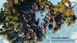 Elaris Town - the abandoned elven city - [Cinematic / Download] Minecraft Project