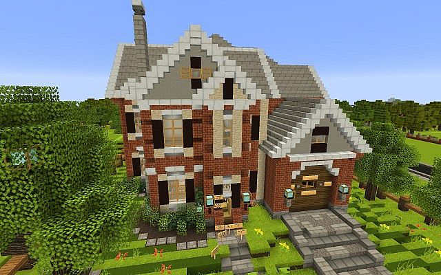 New american house wok build 1 minecraft project for New house project