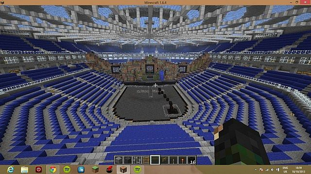 Tomorrowland main stage 2013 (indoor) Minecraft Project