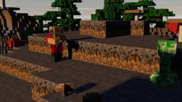 Making a Minecraft Photo the Right Way! - Cinema 4D R14 Edition Minecraft Blog Post