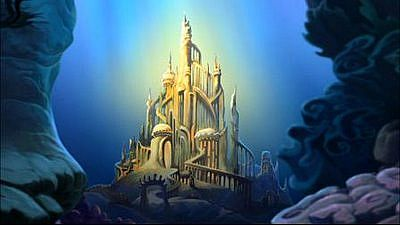 Underwater Mermaid Castle Little Mermaid Castle ...