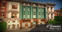 O'Connan | Victorian Irish Pub Minecraft Project
