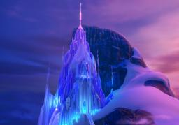 Elsa's Ice Castle (Frozen) Minecraft Map & Project