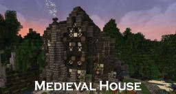 Medieval House + Forest Minecraft Map & Project