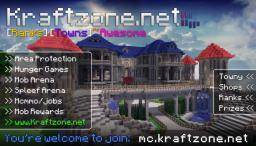 mc.kraftzone.net [1.11] [207.191.230.30] [SkyBlock] [Towny] [SurvivalGames] [MobArena] Minecraft Server