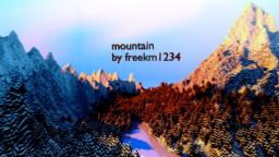 mountain Minecraft Map & Project