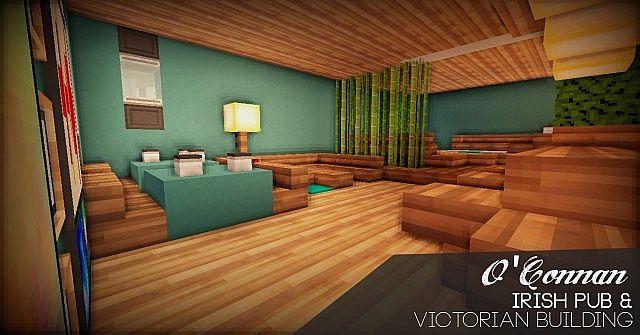 O Connan Victorian Irish Pub Minecraft Project
