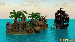 Rum Islands - Blockhunt Map for Minecade Minecraft Project