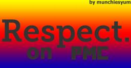 Respect to PMC Minecraft Blog Post