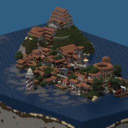 Roman city Minecraft Map & Project