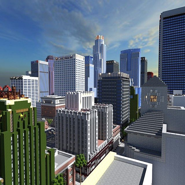 Empirepolis American City Project Minecraft Project