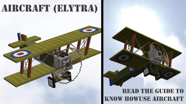 NEW AIRCRAFT!! Read the wwi guide to see how use the aircraft, go it!