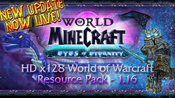 World of Minecraft - HD 128x128 WoW Resource Pack Minecraft Texture Pack