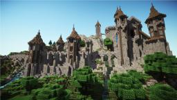 Epic Medieval Castle + [ Download ] Minecraft Map & Project