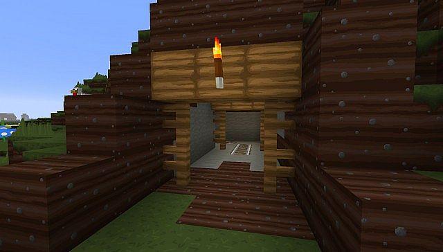 Its a mineshaft!