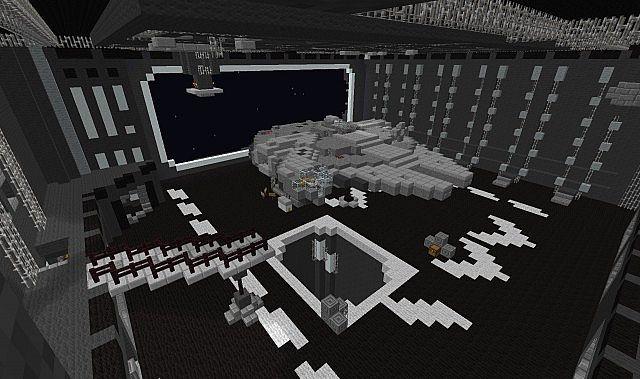 STAR WARS The Death Star Minecraft Project - Minecraft empire spielen
