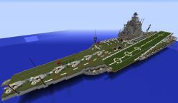 project 1153 Orel aircraft carrier Minecraft Map & Project
