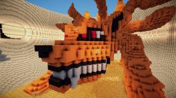 Nine-Tailed Demon Fox 3D (Kyuubi, Naruto) Minecraft Map & Project