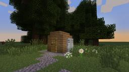 My smallest habitable house (how to build it) Minecraft Map & Project