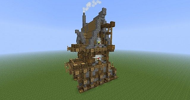 Yet Another Medieval House Minecraft Project