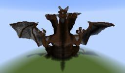 3-Headed Dragon Pixel Art (first attempt on 3D art) Minecraft Map & Project