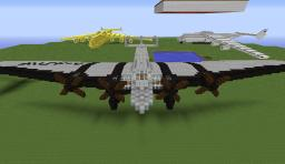 1:1 Scale - 1930´s Junkers G38 Passenger Airliner Minecraft Map & Project